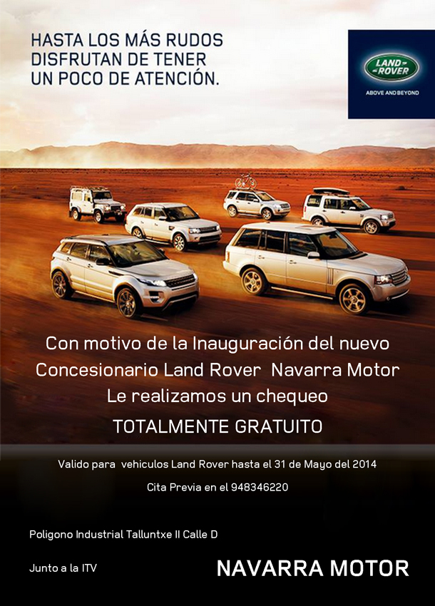 Oferta Land Rover
